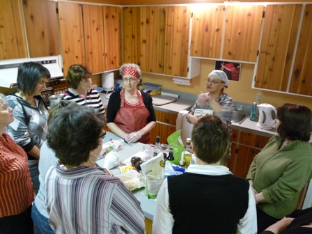 Activité de cuisine 2012