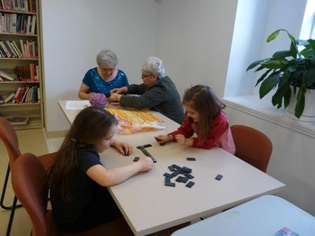 Domino et tricot