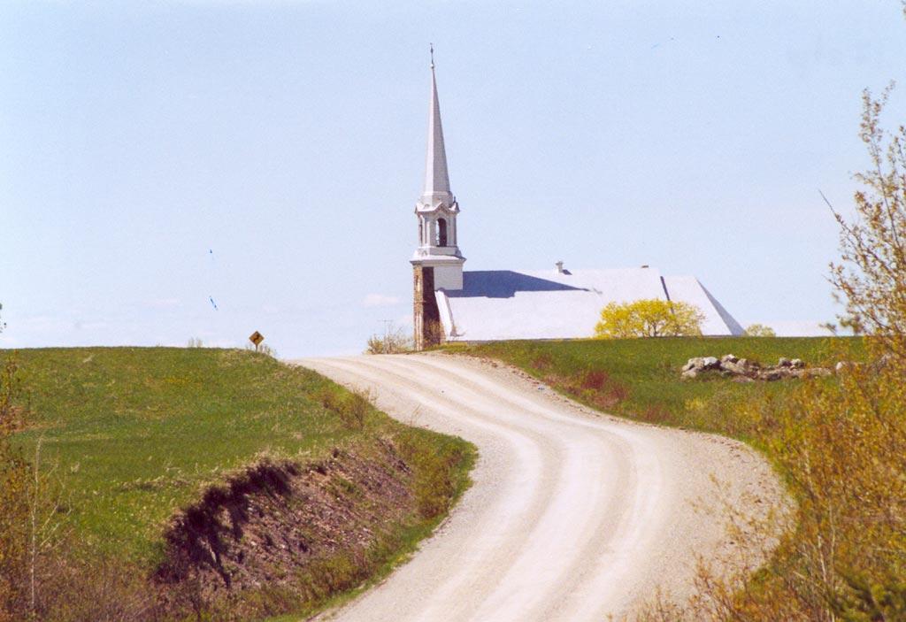 Rang de l'église (Photo : © Stéphane Proulx)